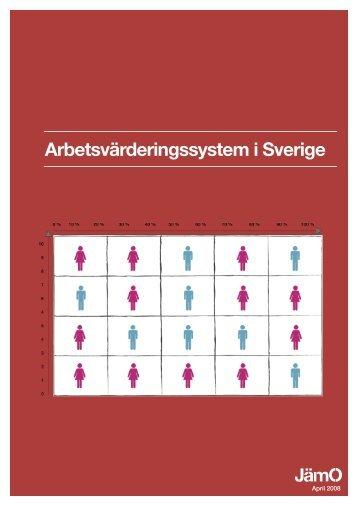Arbetsvärderingssystem i Sverige