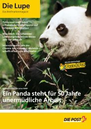 Die Lupe 01/2011 - Die Schweizerische Post