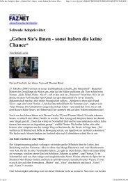 "Schwule Adoptivväter: ""Gebe... - Regenbogenfamilie"