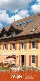 Hôtel de l'Aigle Le Val-de-Travers vous attend - Seite 4