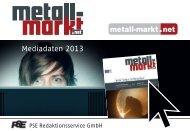 Mediadaten metall-markt 2013_Layout 1 - Alu-News