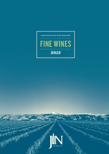 fine wine list - James Nicholson