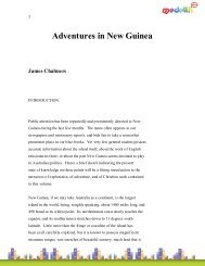 Adventures in New Guinea James Chalmers