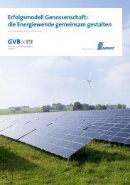 die Energiewende gemeinsam gestalten - Genossenschaftsverband ...