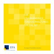 European Fund Administration - EFA
