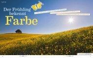 Der Frühling bekennt Farbe (HÖRZU HEIMAT) - Silke Pfersdorf l ...