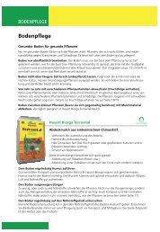 Gartenratgeber Boden - Hauert.com