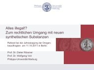 Gefahr: Gesetz ist unverhältnismäßig - Die Drogenbeauftragte der ...