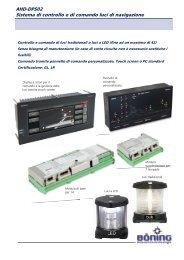 AHD-DPS02 Sistema di controllo e di comando luci di navigazione