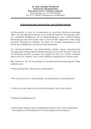 Dr. med. Christian Weichbrodt Patienteninformation Reisemedizin ...