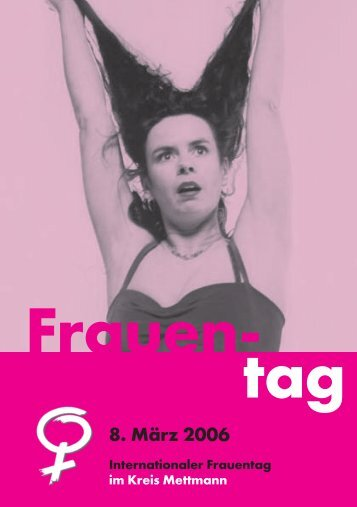 Internationaler Frauentag 2006 - Motus4