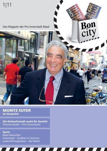 Bon City Magazin #1 - Pro Innerstadt Basel