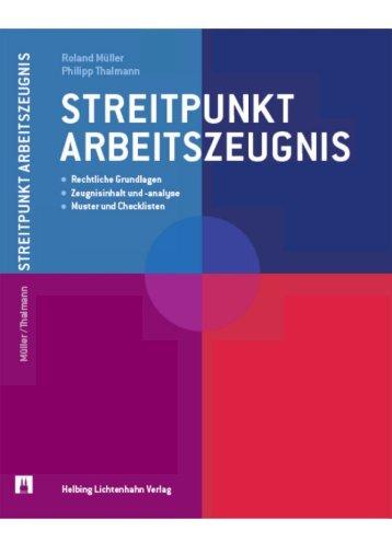 Streitpunkt Arbeitszeugnis - Müller Eckstein Rechtsanwälte
