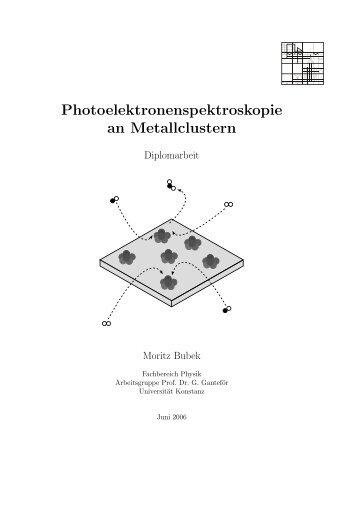 Photoelektronenspektroskopie an Metallclustern - bubek.org