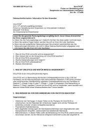 RA 8900 DE P4 (ref 3.0) OncoTICE®, Pulver zur Herstellung einer ...