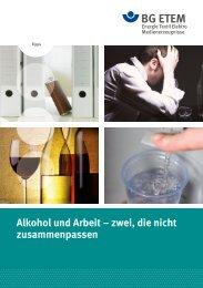 Alkohol und Arbeit – zwei, die nicht zusammenpassen