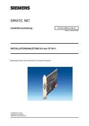 SIMATIC NET - Siemens