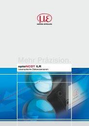 Katalog optoNCDT ILR (PDF, 2.71 MB) - Micro-Epsilon Messtechnik ...