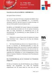 PDF-Datei zur Laufzeitakkreditierung - Messe Düsseldorf