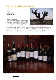 Grandiose Weine - vinifera-mundi.ch