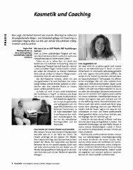 Kosmetik und Coaching - NLP Akademie Schweiz