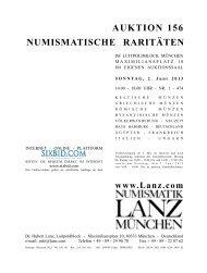 AUKTION 156 NUMISMATISCHE RARITÄTEN