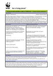 Caricion bicolori-atrofuscae - WWF Schweiz