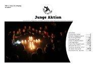 Ausgabe 02 / 2013 - Junge Aktion