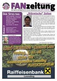 Fanzeitung 25.indd - ASKÖ Leonding