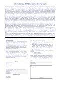 Gekürzter Anforderungsschein Medizinische Genetik mit ... - Bioglobe - Seite 2