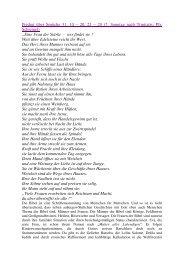 Predigt über Sprüche 31, 10 – 20. 25 – 29 (7. Sonntag nach ...