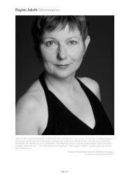 Biografie als .pdf herunterladen - Regina Jakobi