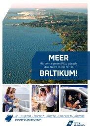 meer baltikum! - DFDS Seaways