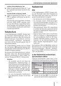 Helsinki 220 BT / London 120 / Sydney 220 BT ... - Blaupunkt - Page 7