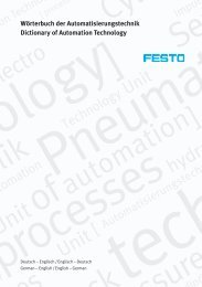 automation ] rocesses - Festo Didactic