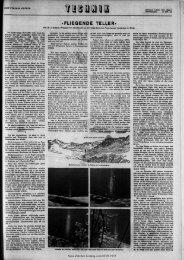 «FLIEGENDE TELLER» - Neue Zürcher Zeitung