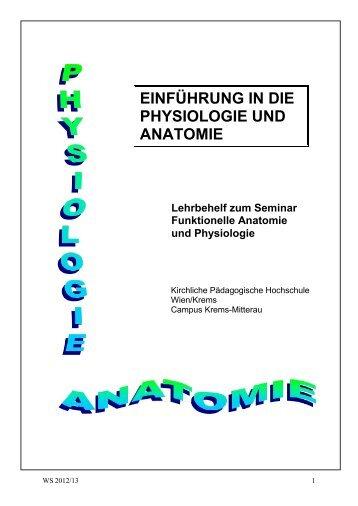 Skriptum Anatomie / Physiologie - pro.kphvie.at - Kirchliche ...