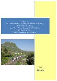 SPVN-Qualitätsbericht 2012 - Nahverkehrsgesellschaft Baden ...