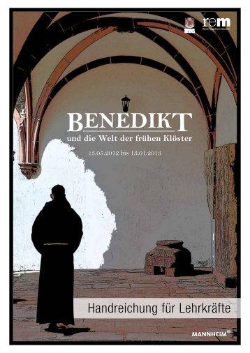 Lehrerhandreichung (pdf) - Benedikt