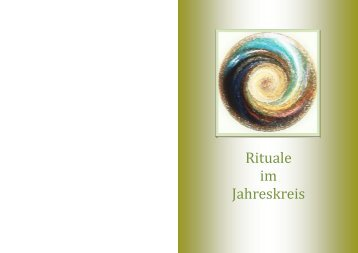 Rituale im Jahreskreis - Cholere