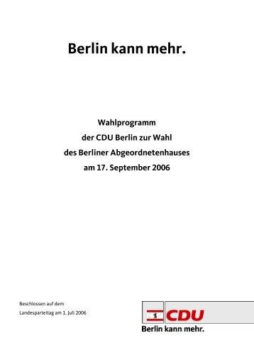 Wahlprogramms - des Deutschen Hanf Verband