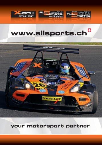 ALL-SPORTS Flyer auf Deutsch