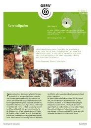 Serendipalm - Fair Trade