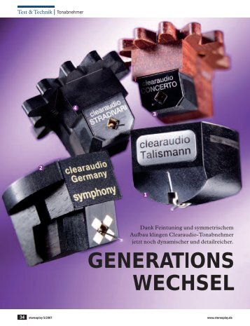 GENERATIONS WECHSEL - Technology Distribution