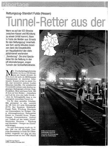 Tunnel-Retteraus der Rhön - Ret-Mag - LFKS
