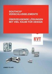 Southco® – Verschlusselemente - KVT-Fastening GmbH