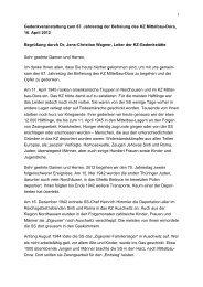 Dr. Jens-Christian Wagner - Gedenkstätte Buchenwald