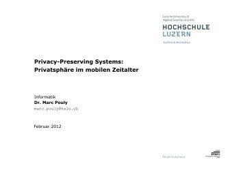 Privatsphäre im mobilen Zeitalter - Dr. Marc Pouly e9907786ea