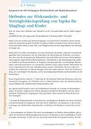 Methoden zur Wirksamkeits- und ... - Gd-online.de