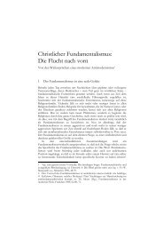 Michael Weinrich, Christlicher Fundamentalismus - reformiert-info.de